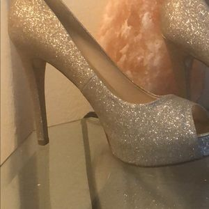 "Woman""s high heel shoes"